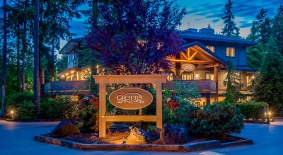 Grotto Spa, Tigh-Na-Mara Spa Resort, Parksville, British Columbia, Spas of America
