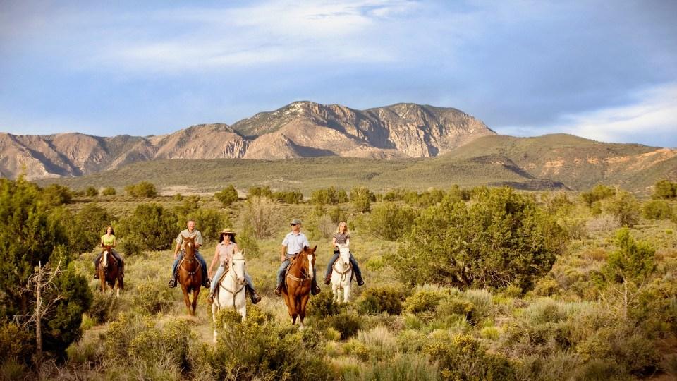 Horseback Riding, Red Mountain Resort, Sagestone Spa, Spas of America
