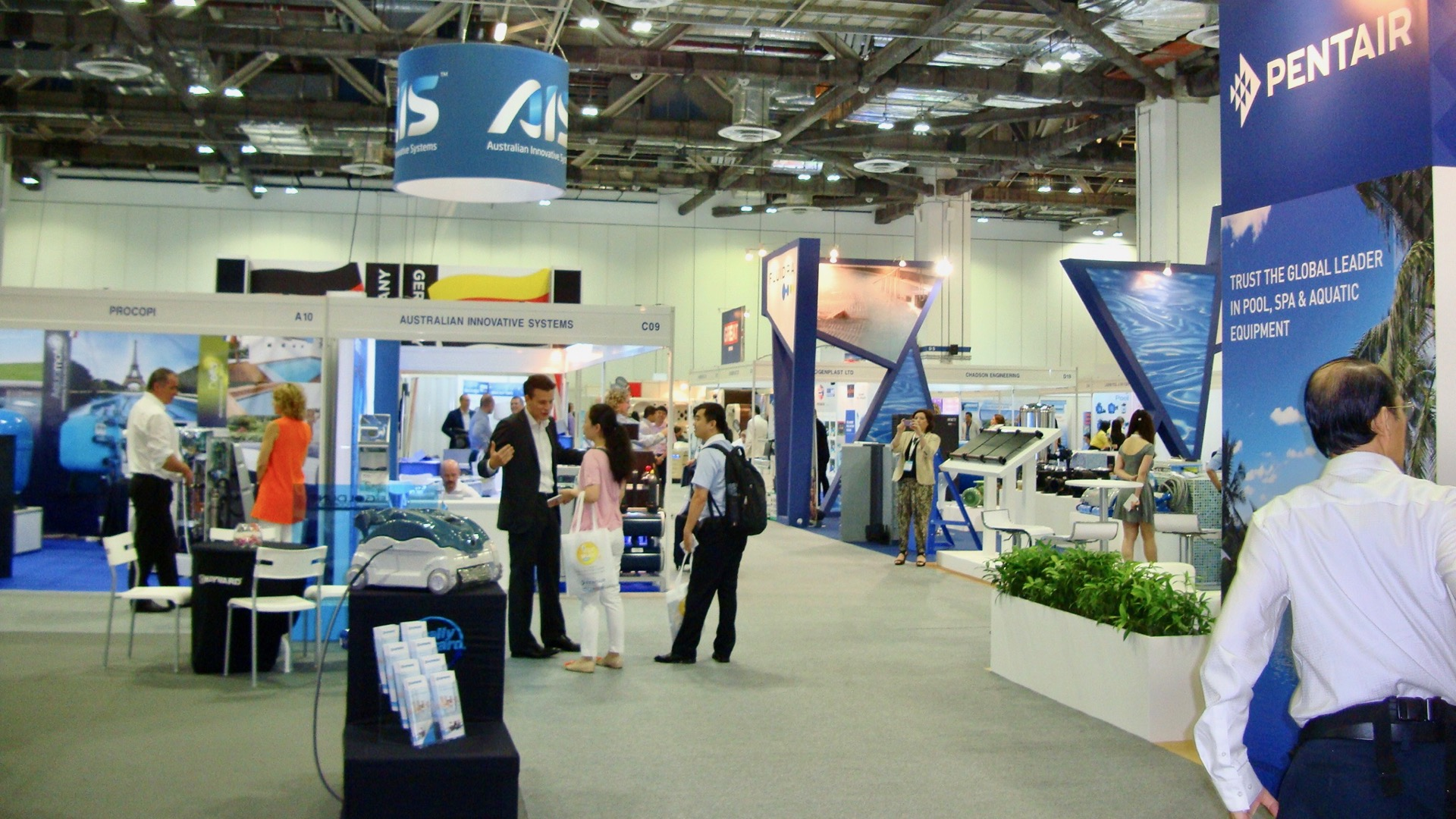 Asia Pool Spa Expo, Spas of America