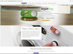 Amazon announces Dash Buttons