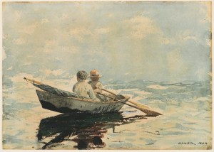Winslow_Homer_-_Rowboat
