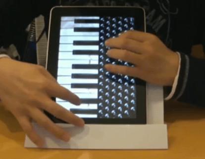 Ipad accordeon