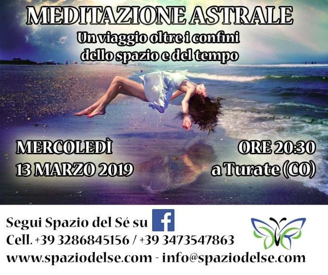 13/03/2019 - Meditazione Astrale