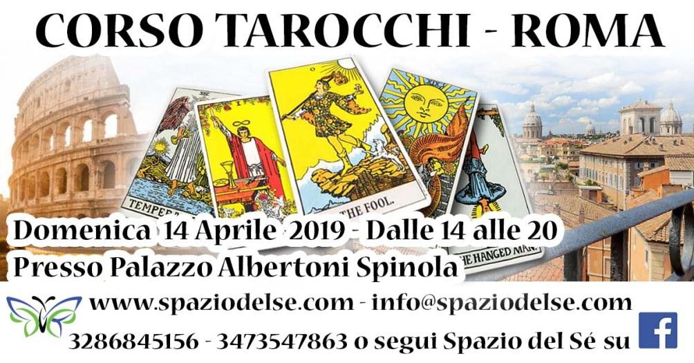 14/04/2019 - Corso Tarocchi - Roma
