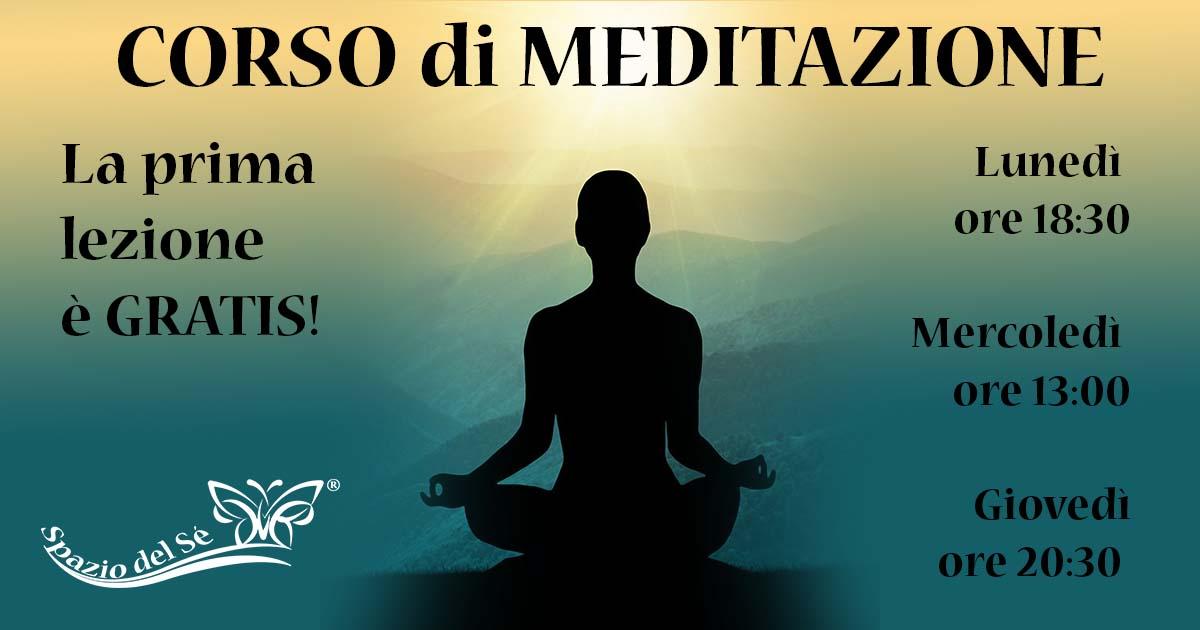 Novembre 2019 - Corso di Meditazione