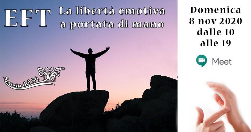 08/11/2020 - Corso EFT (Libertà Emotiva)