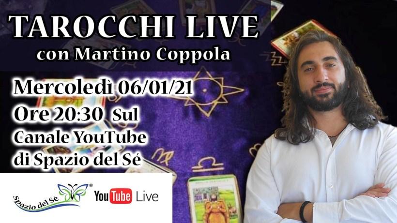 06/01/21 - Tarocchi Live - come sarà il nuovo anno?