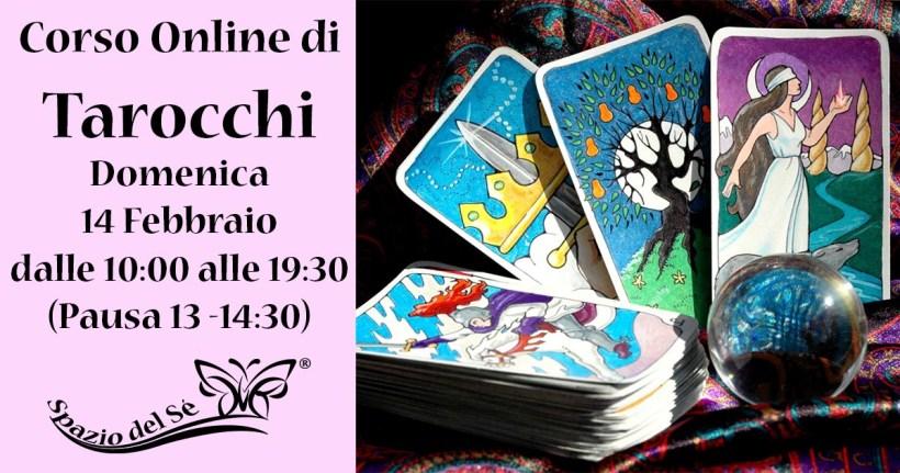14/02/21 – Corso Online di Tarocchi