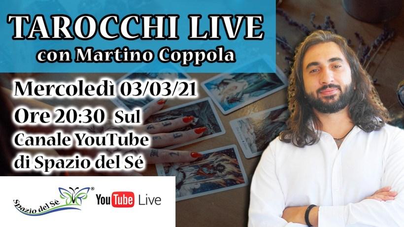 03/03/21 – Tarocchi Live – Cosa ci aspetta a Marzo?