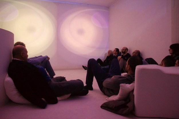 Spazioersetti - sound and light environment - foto: Lara Carrer