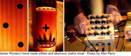 James Wyness DIY instruments