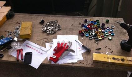 Accordatura di 100 campanelli di bicicletta per Il Suono in Mostra, rassegna di arte sonora - foto: Continuo