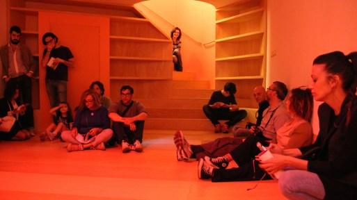 Il Suono in Mostra 2016 – Sebastien Roux (FR) – 10 Sinetones reaching 700Hz every 4 minutes – photo: Lara Carrer