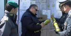 nas olio extra vergine di oliva contraffatto