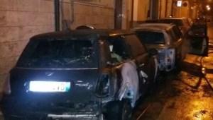 san severo auto incendiate 9 gennaio 2015