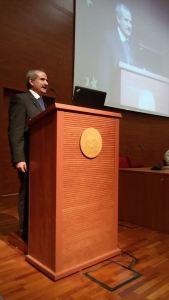 Peppe Zullo al seminario dell'Università