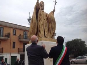 inaugurazione monumento papa san severo