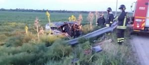 incidente stradale zapponeta 8 Aprile 2015
