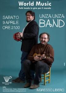 Unza Unza Band_Sabato09Aprile2016_Skantinato58