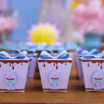 Chuva de cupcakes