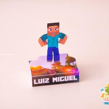 Personalizados Tema Minecraft