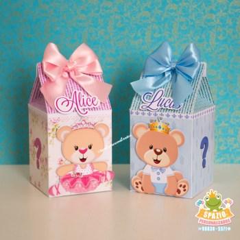 Caixa Milk - Ursinhos