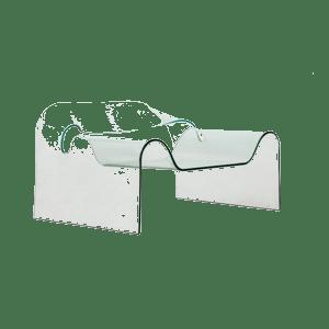 Poltrona Ghost Fiam.Fiam Armchair Ghost Preview Spazio Schiatti