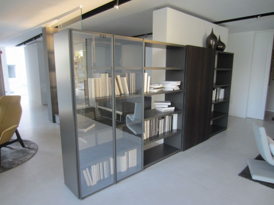 Bookcase Wall System Poliform | Spazio Schiatti dealer
