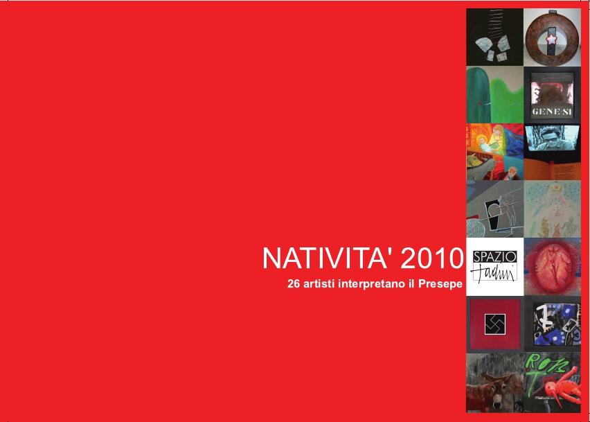 mostra natività 2010 a Spazio Tadini
