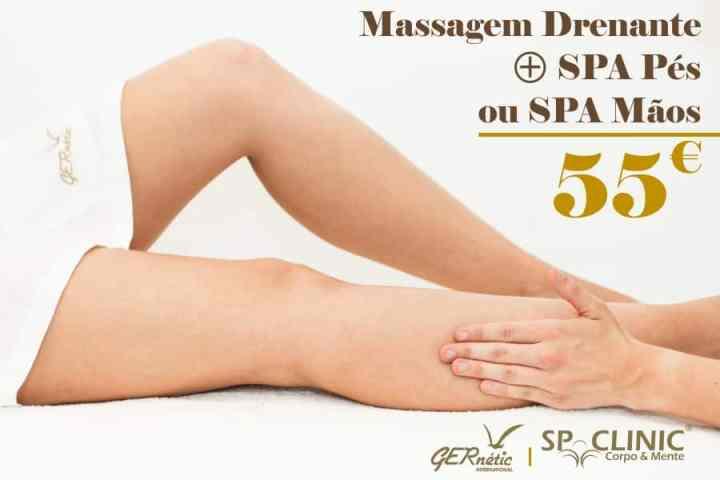 campanha massagem drenante