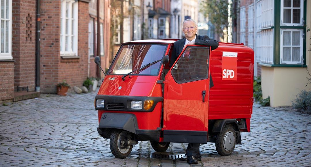 Landratswahl, Landratskandidat, SPD, 2019, Norbert Meyer