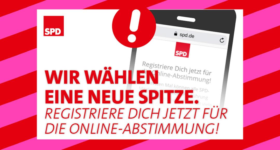 SPD, Parteispitze, Abstimmung, Mitgliederbefragung, Doppelspitze