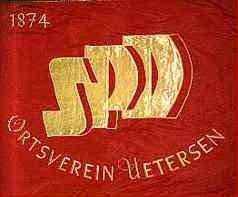 Fahne des SPD Ortsvereins Uetersen