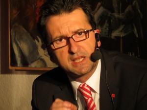 Reinhold Jost beim Ortsgespräch