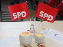 Neujahrsempfang SPD Waltrop 2019 Fahnen-min