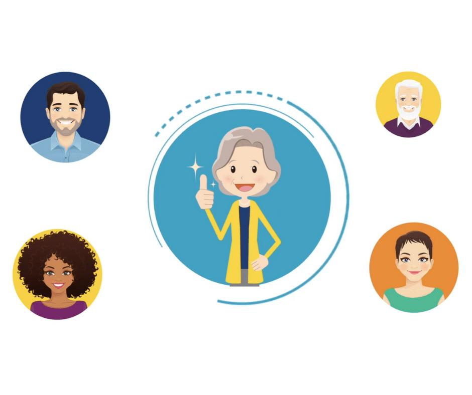 Speak2 Family helps your family care for elderly loved ones.