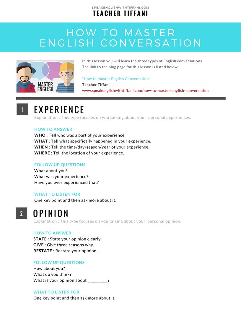 Conversation In English Pdf