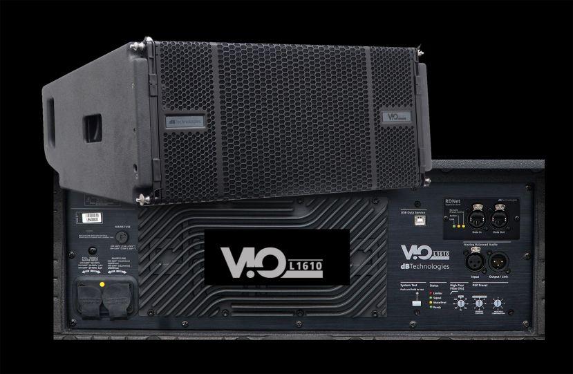 Vio line array speaker speakerkoning