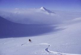 Stephen Koch Antarctica ripping Vinson