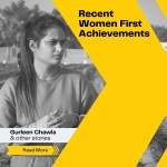 Recent 'Women First' achievements, which were not even done by men before!