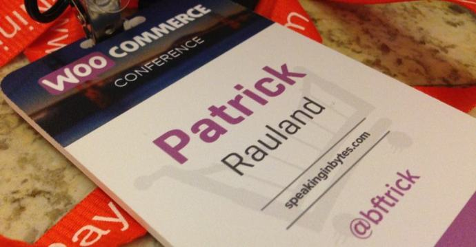 WooCommerce Conf Badge