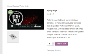 YITH WooCommerce Featured Video Screenshot