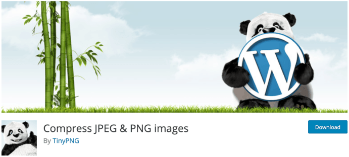 Compress JPEG & PNG Images plugin