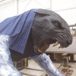 Each Panther was molded to resemble the shape of one of the Carolinas.