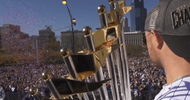 Aeronet Worldwide Helps Transport the Chicago Cubs World Series Trophy