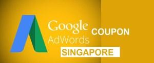 Google Adwords Coupon Singapore 75 SGD