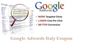 Google Adwords Coupon Italy 75 Euro