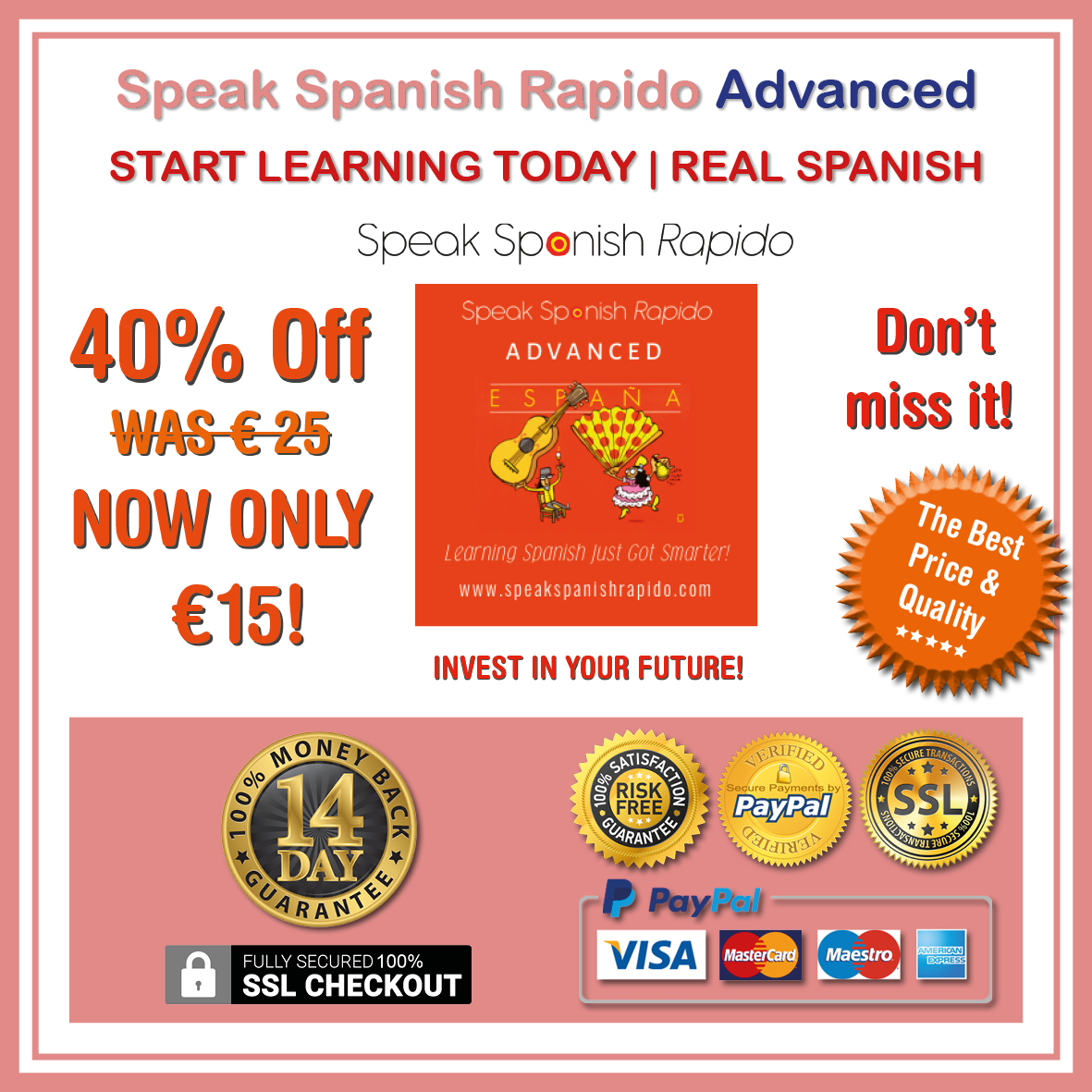 Speak Spanish Rapido