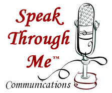 Speak Through Me Communications logo