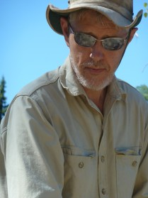 photo of lichenologist Trevor Goward